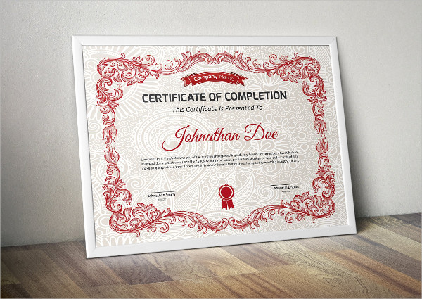 Graduation Certificate Design Template