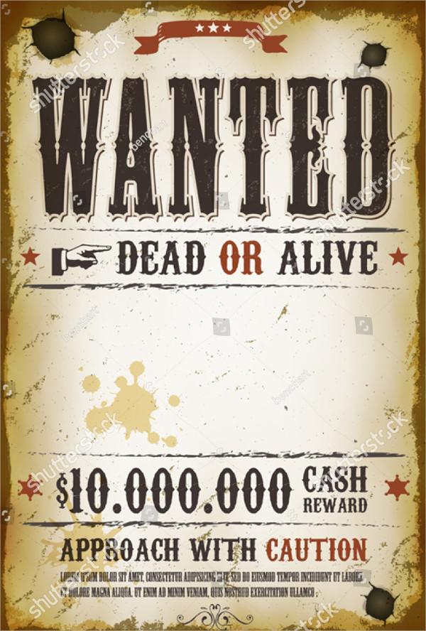 Grunge Western Poster Templates
