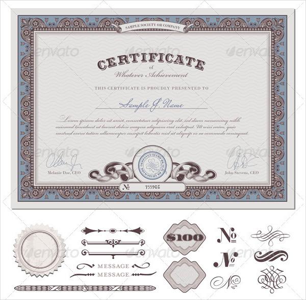 Interior Design Certificate Program Template