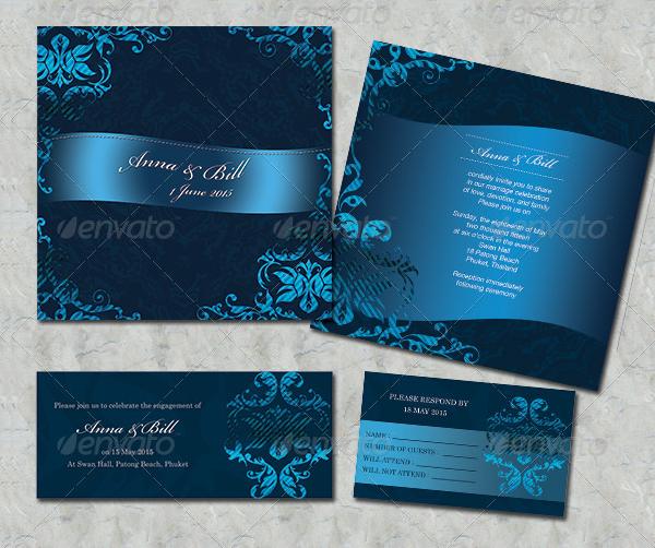 Items Wedding Card Templates