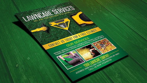 14+ Lawn Care Flyer Templates - Free & Premium Download