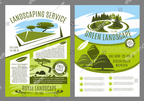 14  lawn care flyer templates