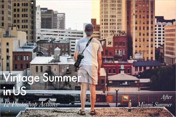Life Style Summer Photoshop Action