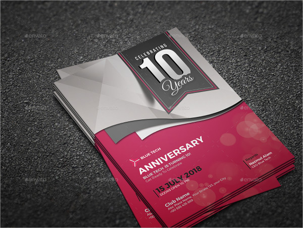 21 Anniversary Invitation Card Templates Free Premium