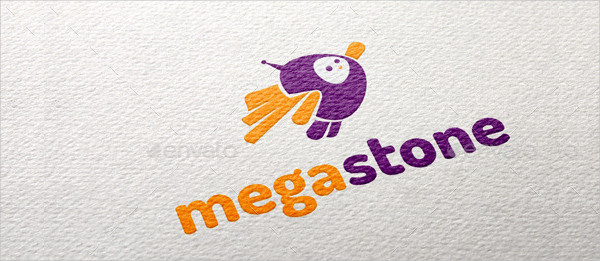 Megastone Hero Logo Template