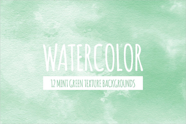 Mint Green Watercolor Backgrounds