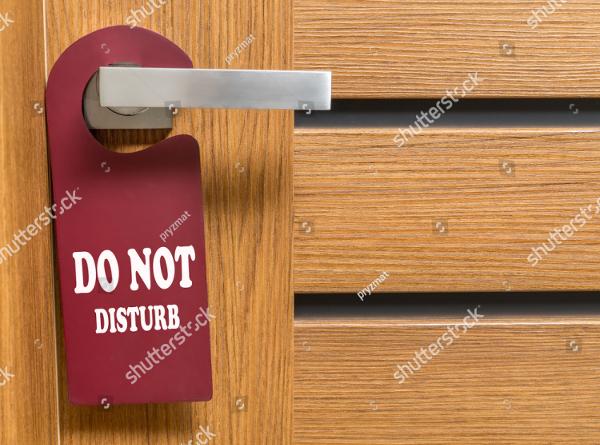 Modern Door Hanger Templates