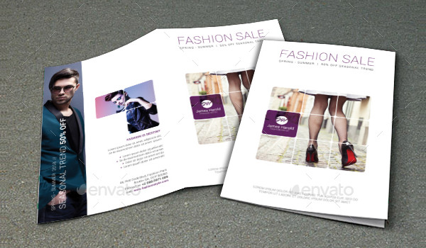 22  fashion brochure template