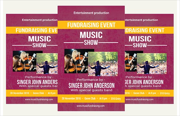 Fundraiser Flyer Templates Free Premium Download - Fundraising brochure template