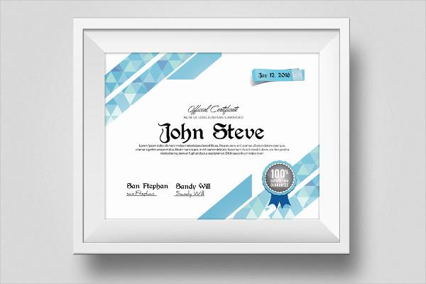 Perfect Certificate Design Template
