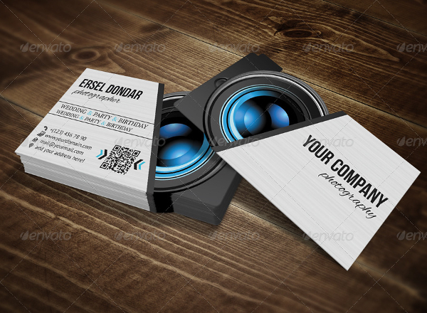 Photographer Stylish Business Card