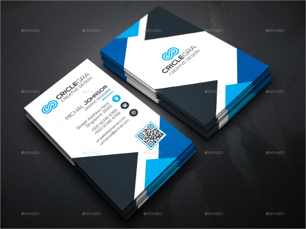 Professional Triangle Business Cards