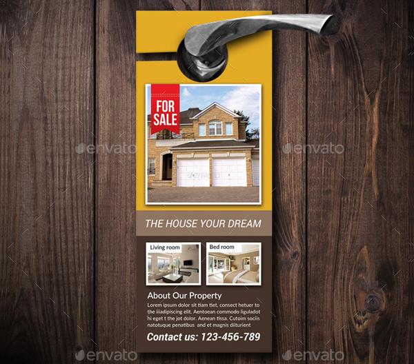 Real Estate Door Hanger Templates