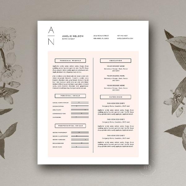 Resume & Cover Letter Design