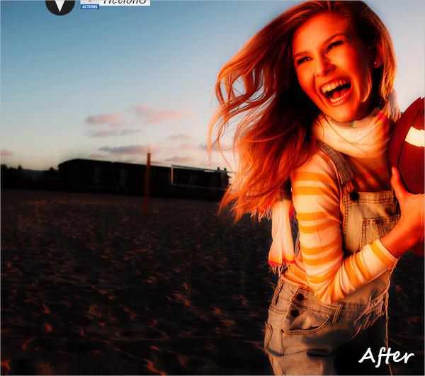 Retro Summer Houte Photoshop Action