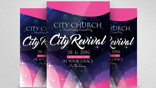 20 Revival Flyer Templates Free Premium Download