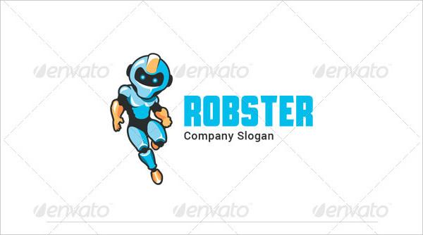 Robster Super Hero Logo Template