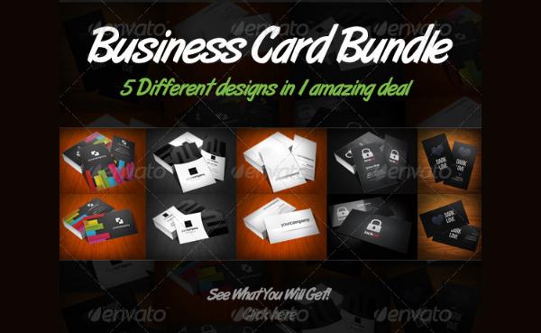 Simple Business Cards Bundle