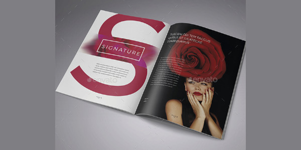 Simple Fashion Brochure Design