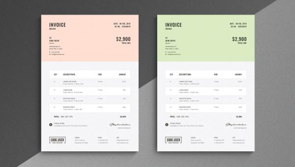 27 simple invoice templates free psd sample example downloads simple invoice template maxwellsz