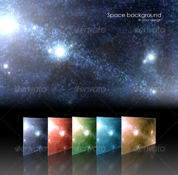 Space Stars Backgrond
