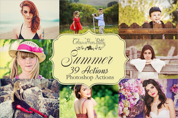 Spring Summer Photoshop Actions