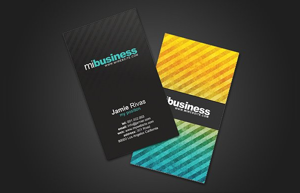 Stripes Creative Business Card