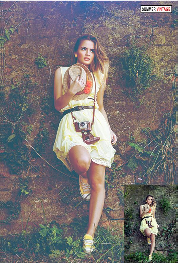 Summer Fashion Photoshop Action