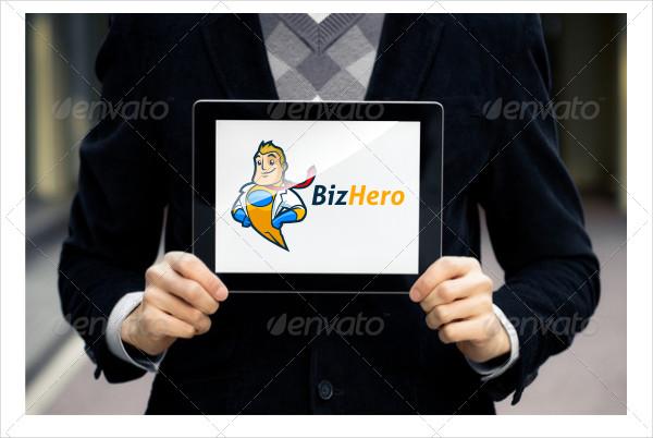 Super Hero Character Logo Template