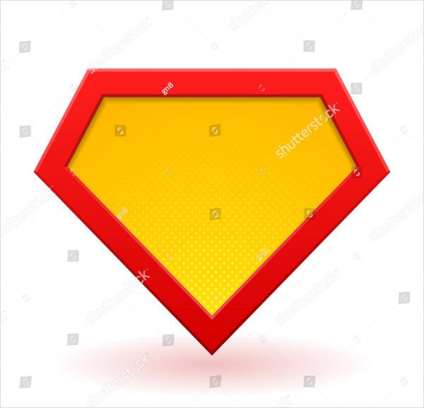 Super Hero Power Logo Template