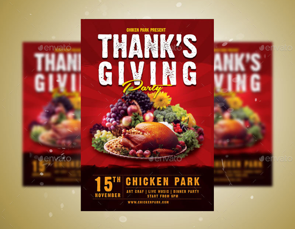 Thanks Giving A5 Flyer