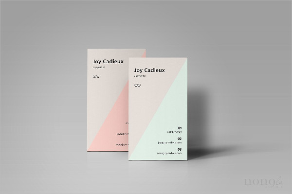 Personal Triangle Business Cards
