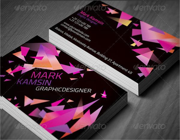 Triangle Studio Business Cards