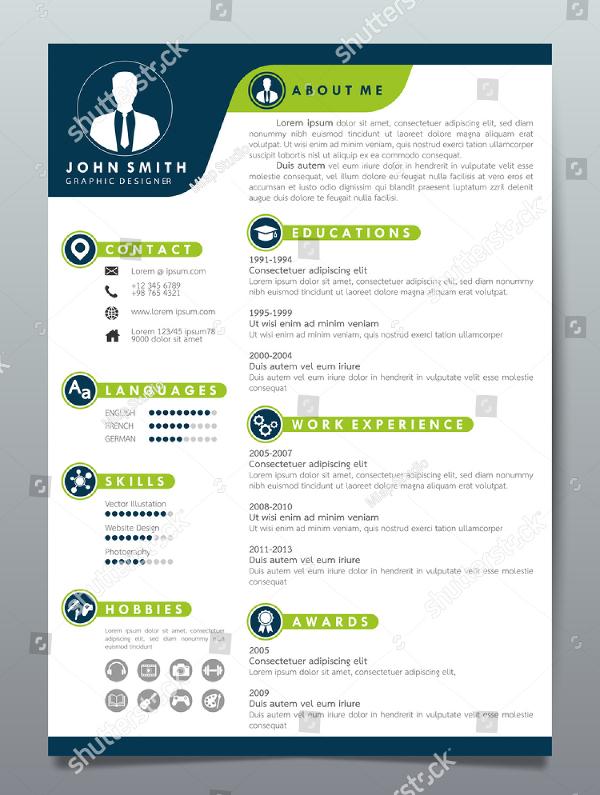 Unique Resume Design Template