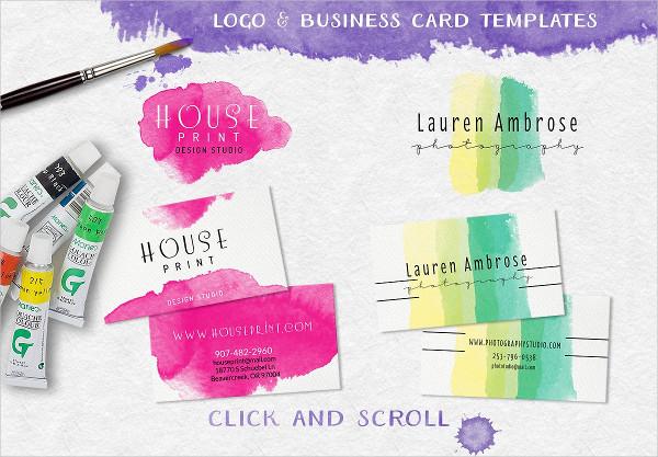 Watercolor Brush Stamps