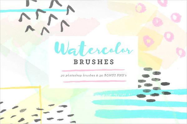 Watercolor Dot Brushes