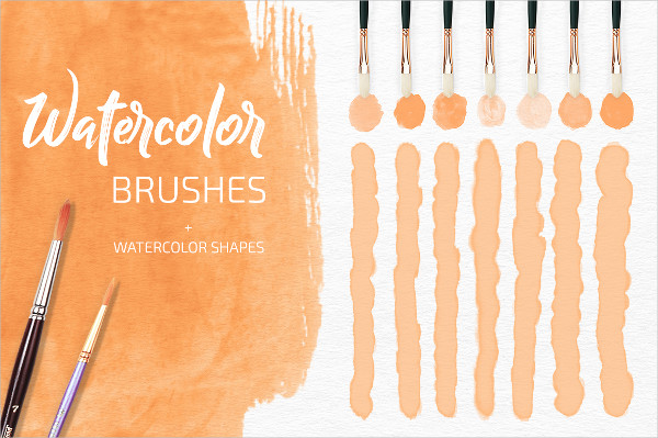 Watercolor Psd Brushes