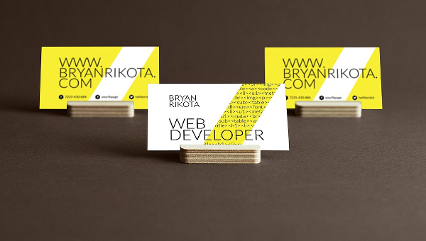 25 web developer business card templates free premium download web developer business card templates colourmoves