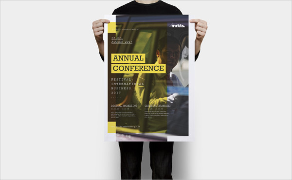 Annual Conference Flyer And Poster