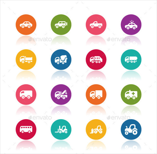 Automobile Car Icons