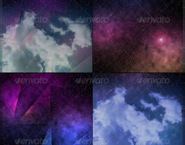 Beautifull Space Background
