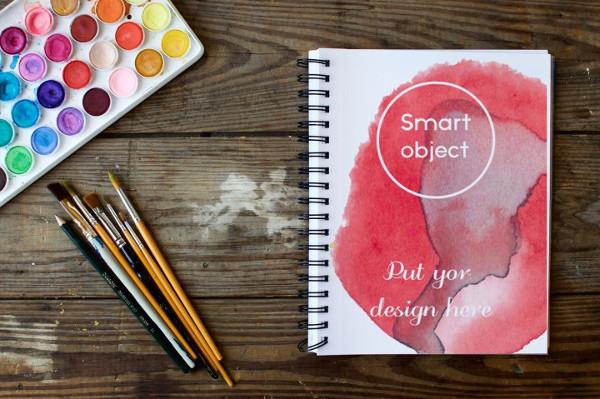 Best Sketchbook Mockup Designs