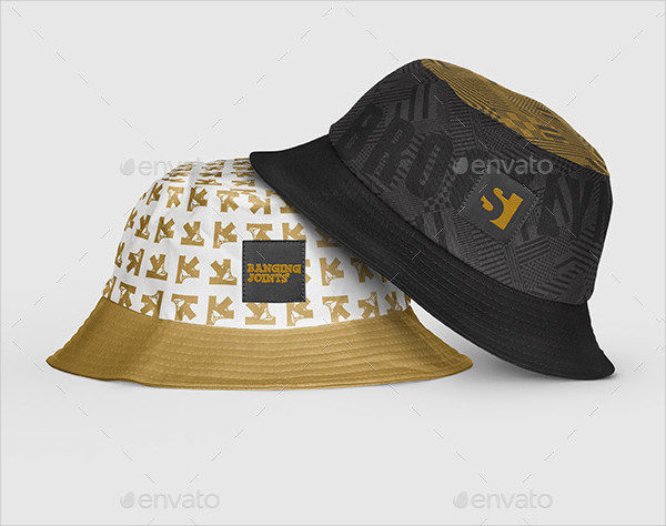 Bucket Hat Mockup Templates