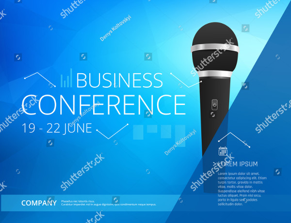 Business Conference Design Poster Template