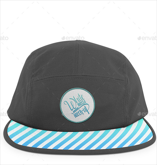 Camp Hat Mockup Templates