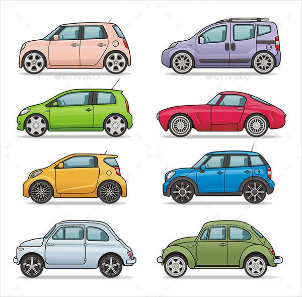 Car Light Icons