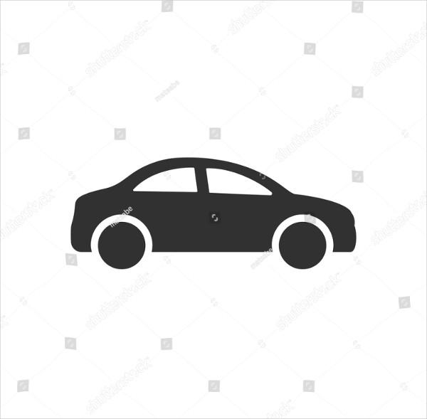 Editable Car Icon