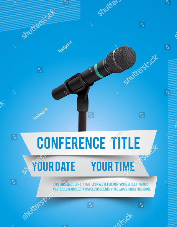 Coference Speech Poster Template