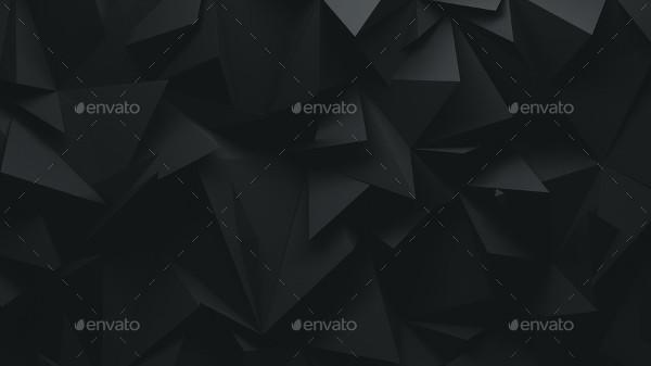 Dark Polygon Backgrounds
