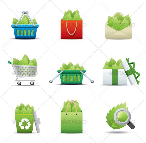 Eco Icon Leaf Saving Set
